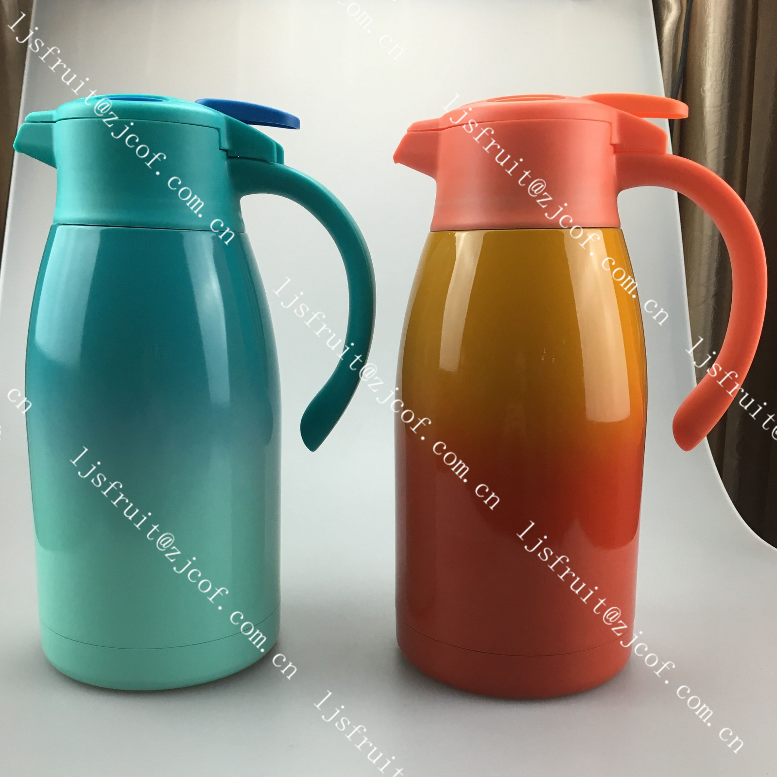Vacuum Thermos Coffee Pot Stainless Steel Double Wall with filter