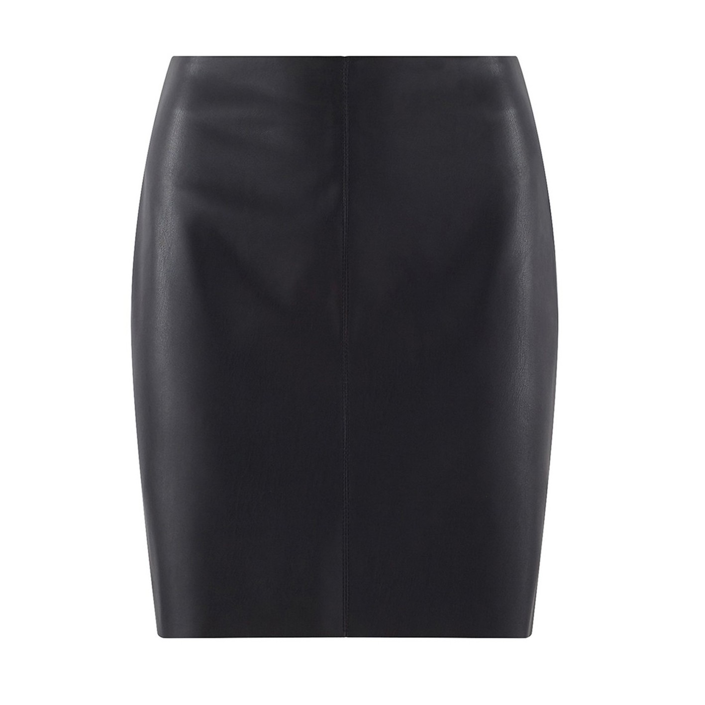 SKIRT IN MOCK LEATHER