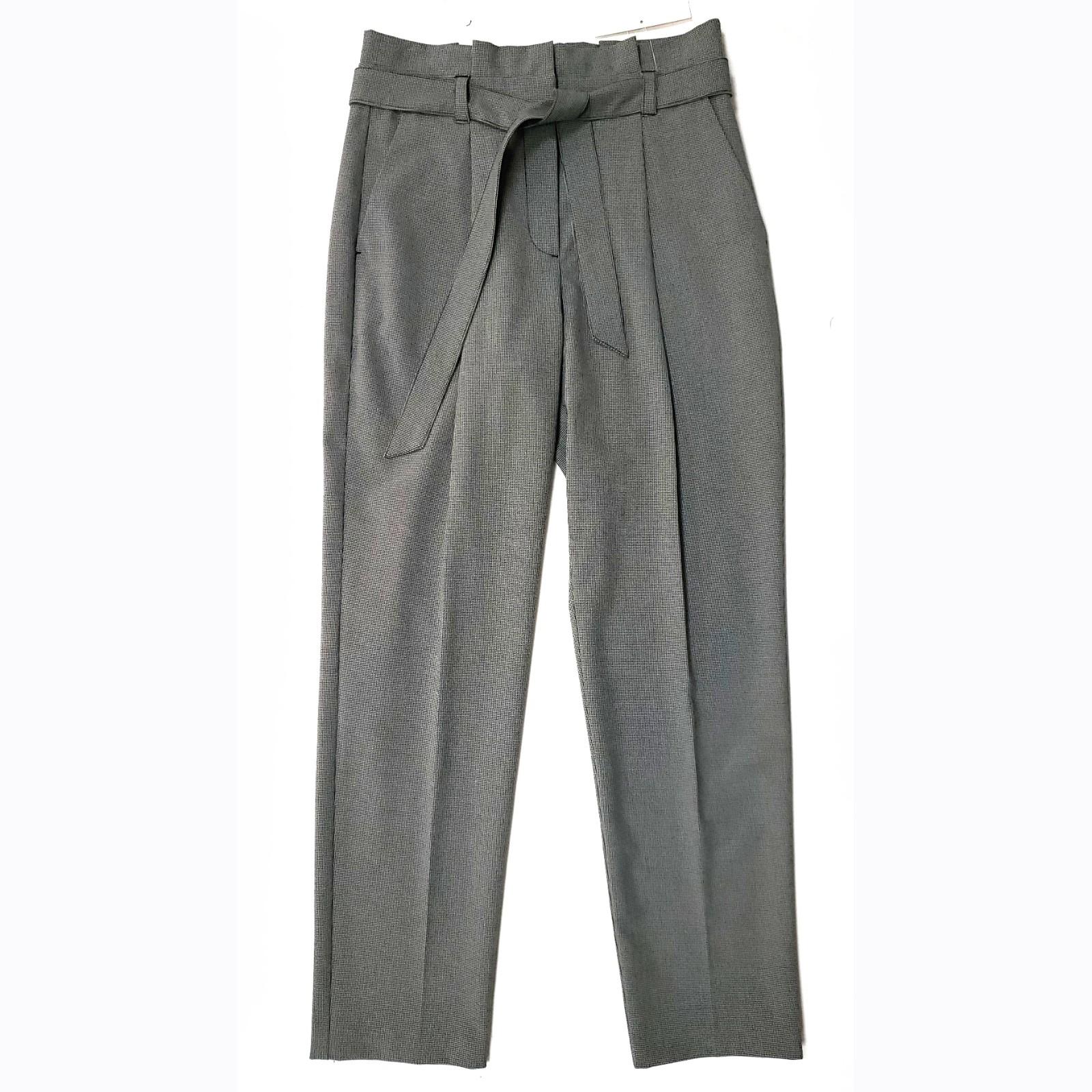PIED DE POULE PANTS FOR LADIES