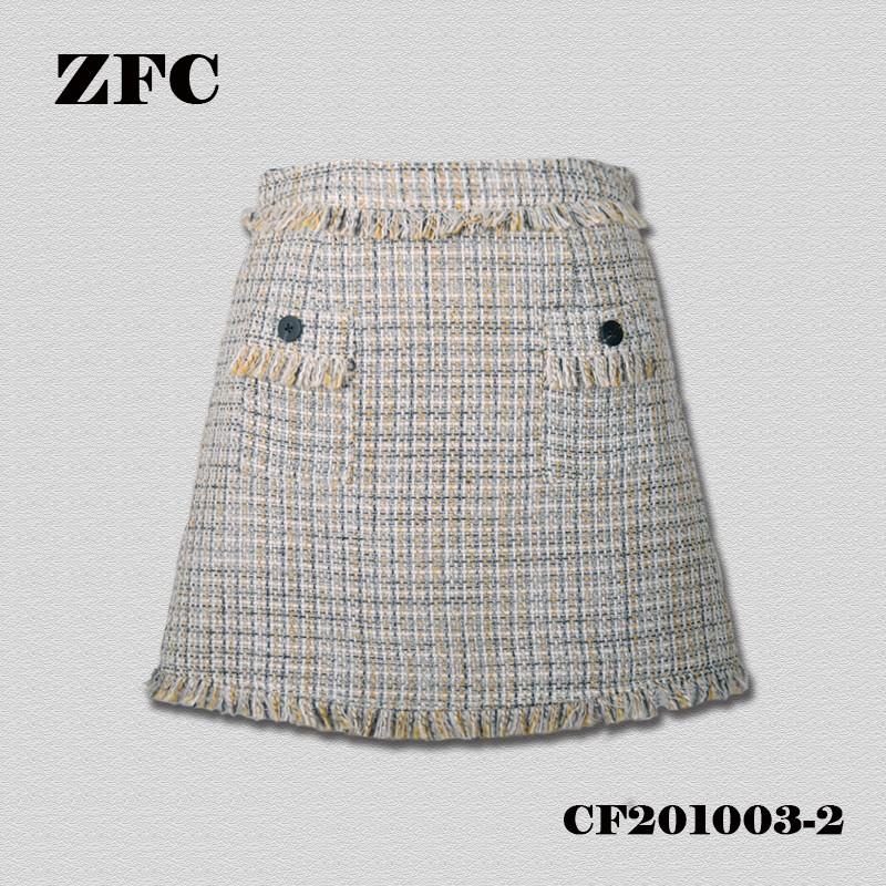 Fancy tweed Skirt For Ladies