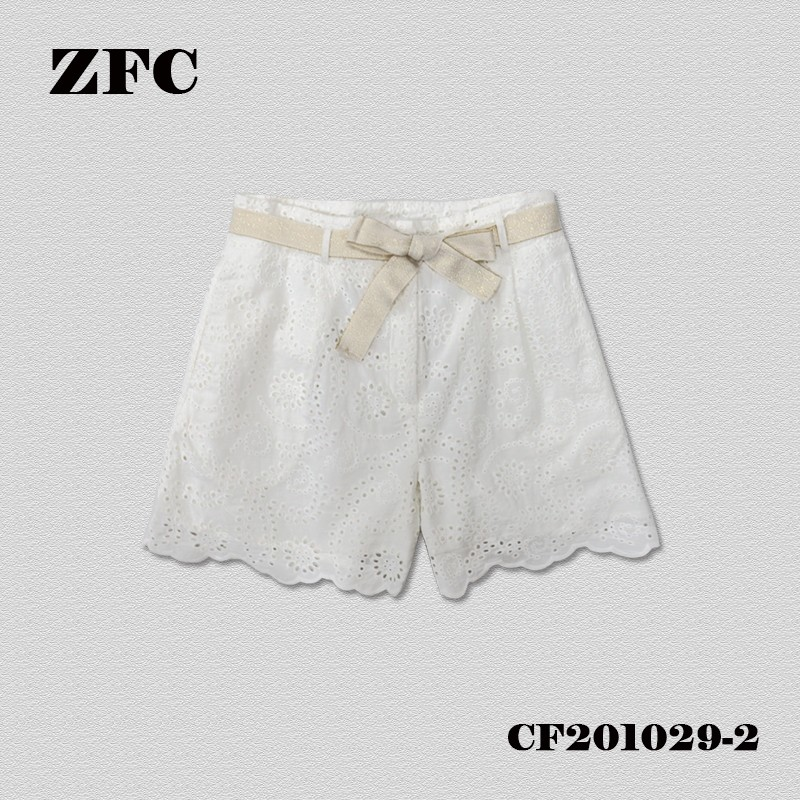 EMBROIDERY Shorts FOR LADIES