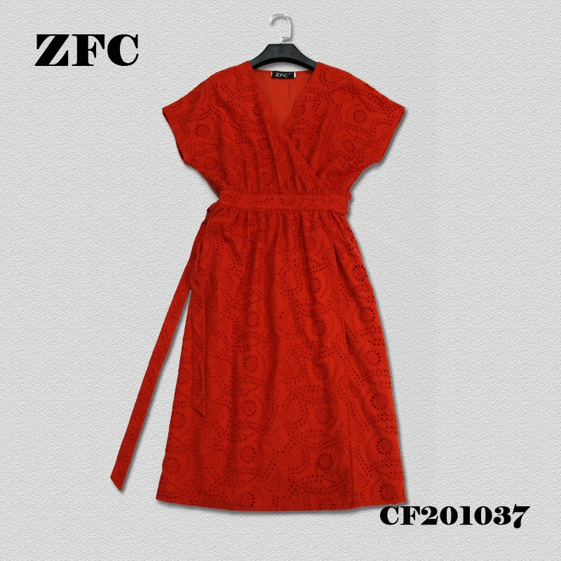 EMBROIDERY DRESS FOR LADIES