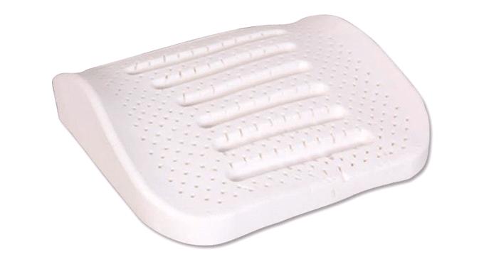 Waist latex pillow