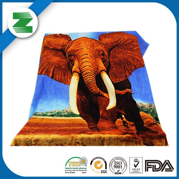High quality microfiber printed beach towel