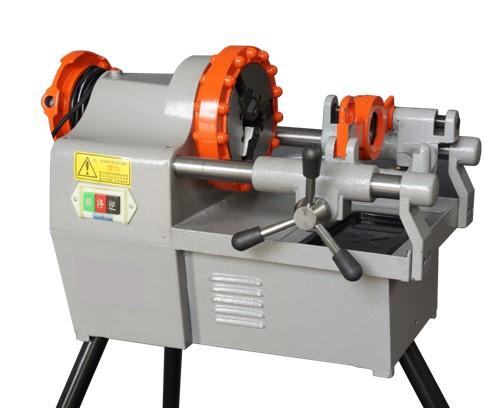 Round steel electrical threading machine
