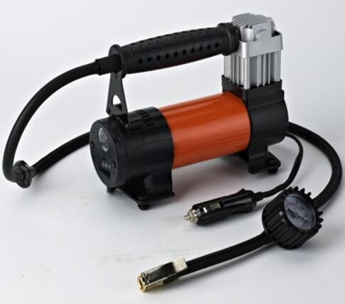 Air Compressor Inflator Portable 12v Pump Car 150 PSI Tire Pressure, smart size with powerful pumping led light