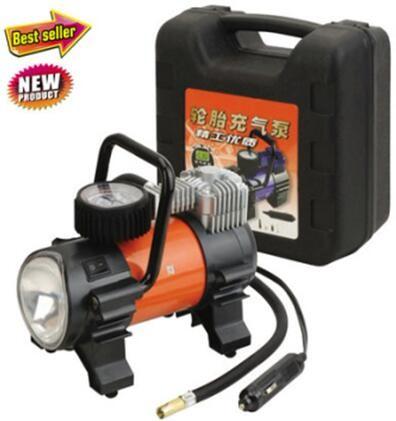 Air Compressor Inflator Portable 7-12v Pump Car 150 PSI Tire Pressure