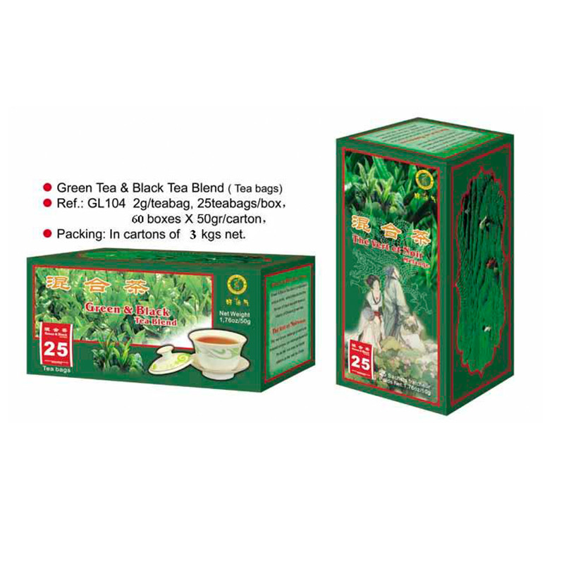 Green Tea &Black Tea Blend