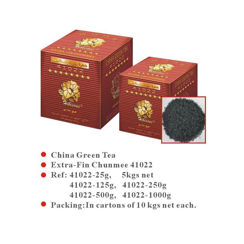 China Green Tea Extra-Fin Chunmee 41022