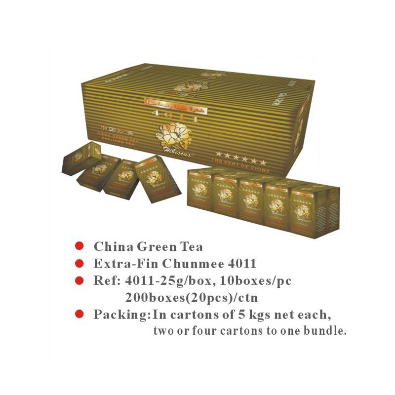 China Green Tea Extra-Fin Chunmee 4011