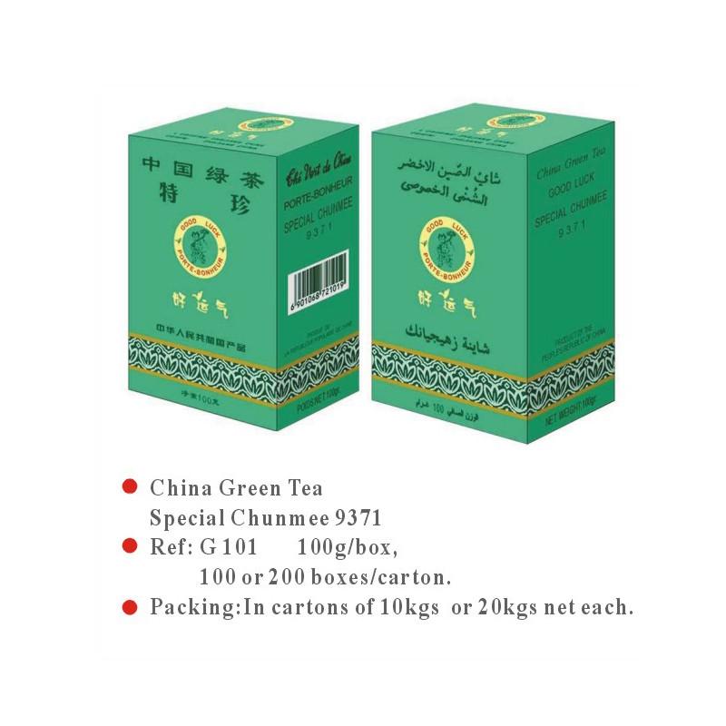 China Green Tea Special Chunmee 9371