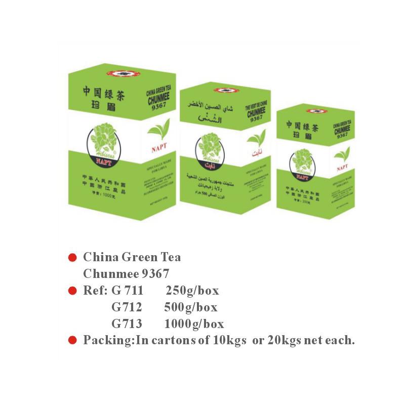 China Green Tea Chunmee 9367
