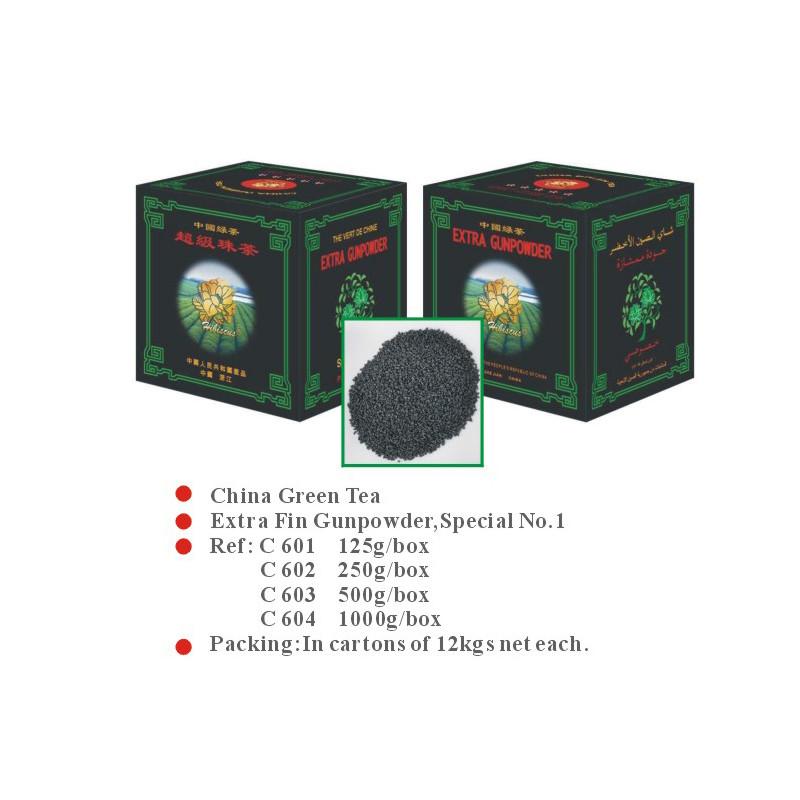China green tea  Extra Fin Gunpowder , Special NO.1