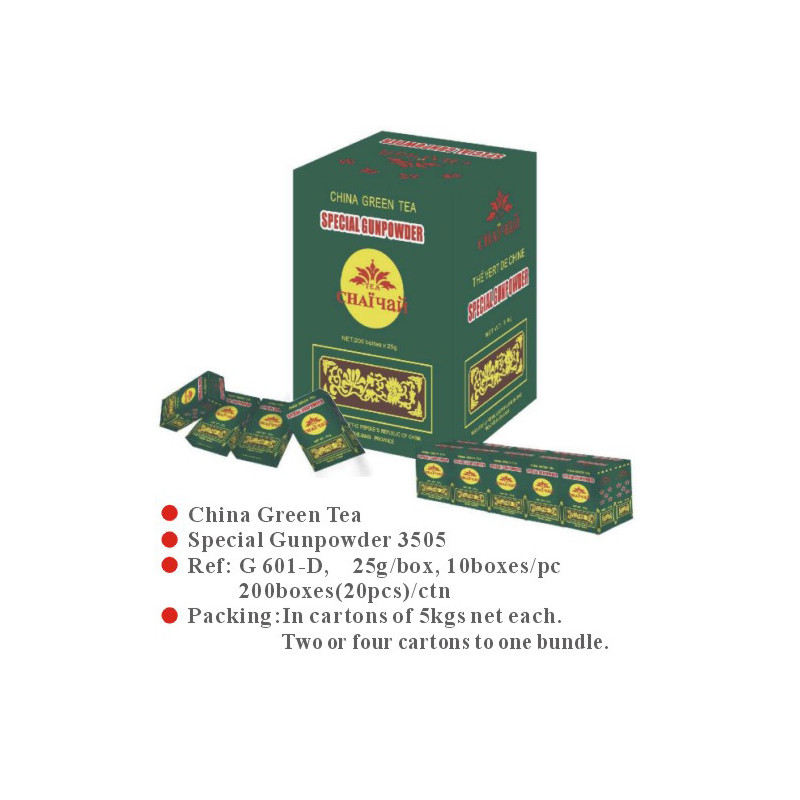 China green tea  Special Gunpowder 3505